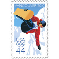 2010 Olympic Winter Stamp